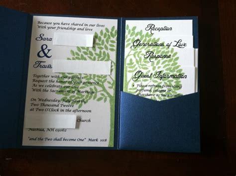 my diy with some help invites weddingbee photo gallery