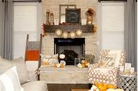 excellent rustic mantel decoration ideas Fall Mantel Decorations, 3 Ways | Hoopla Events | Krista O'Byrne