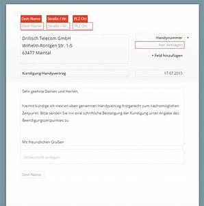Mietvertrag Des Verlags Für Hausbesitzer Gmbh : drillisch telecom k ndigen vorlage download chip ~ Lizthompson.info Haus und Dekorationen