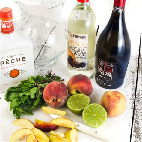 muscadine wine recipe peach muscadine sangria is a cool and refreshing cocktail for summer