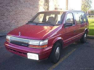 1992 Plymouth Voyager Minivan Specifications  Pictures  Prices