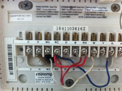 i have a 8082c ritetemp thermostat which does not work properly i want to replace it with