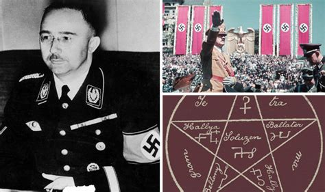 Heinrich Himmler's Stash Of Occult Records Found In Czech