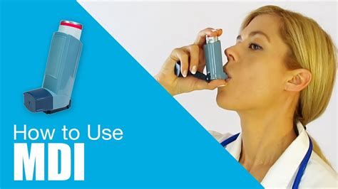How To Use Metered Dose Inhaler (mdi) Youtube