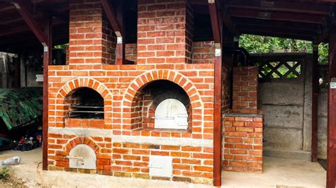 diy brick oven construction youtube