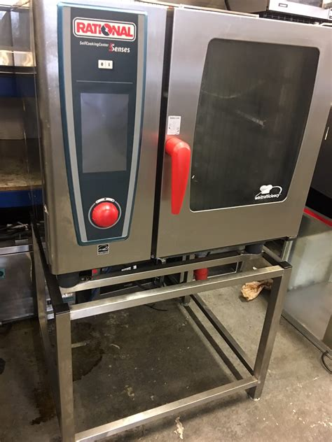 Rational Scc 61 Rational Scc 61 We 6 Grid Electric Oven 3 Phase 2014 Model Used Rational Catering Equipment