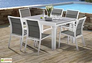 salon de jardin modulo table extensible 6 fauteuils 5 With superb table de jardin contemporaine 0 javascript est desactive dans votre navigateur