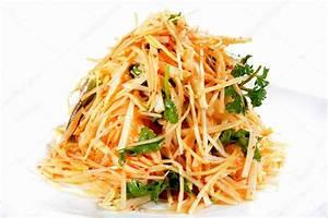 Chinese Food: Salad made of bamboo shoot — Stock Photo © bbbbar #44407561