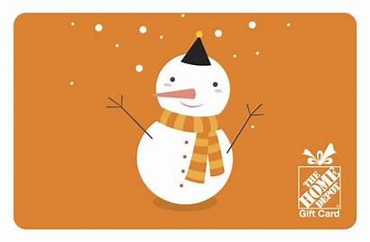 Depot Holiday Santa Gift Card Gifts Theme