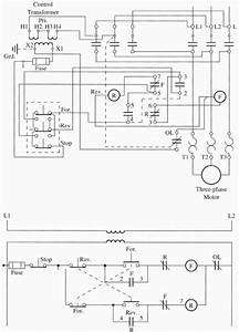Forward Reverse Motor Starter Diagram