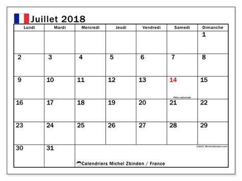 calendrier juillet    calendar printable