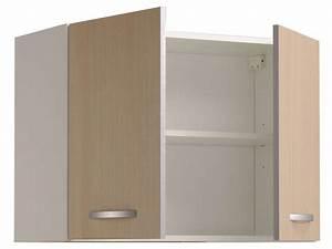 Meuble Haut Profondeur 20 Cm : meuble haut 80 cm 2 portes spoon color coloris conforama ~ Dailycaller-alerts.com Idées de Décoration
