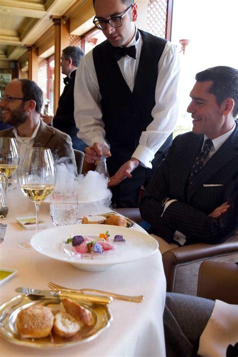 heinz beck festeggia il ristorante la pergola con un menu speciale