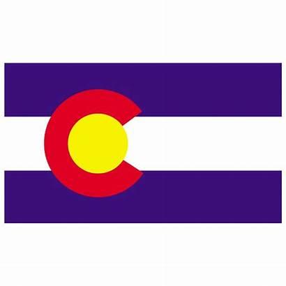 Colorado Flag Vector State Clipart Clip Flags