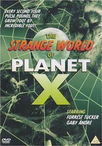 Book Chart Uk The Strange World Of Planet X Dvd Zavvi