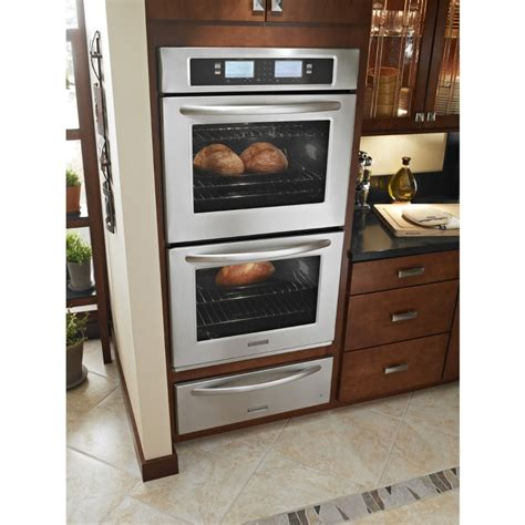 Kitchen Oven Wall by Kitchenaid Kebu208sss 30 Quot Steam Assist Electric
