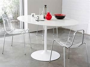 Table De Cuisine Ovale : quelle table pour ma cuisine elle d coration ~ Teatrodelosmanantiales.com Idées de Décoration