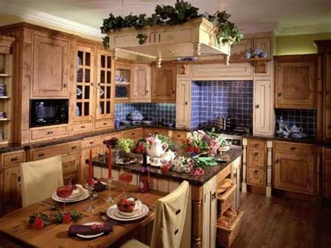 Rustic Country Living Room Ideas, Country Style Kitchen