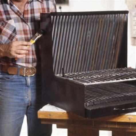 fabriquer sa table de cuisine réaliser un barbecue