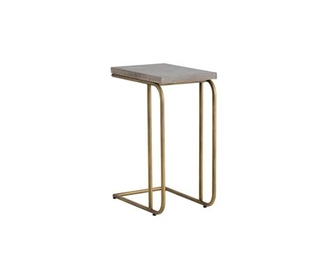 c shaped end table parsons c shaped end table decorative table decoration