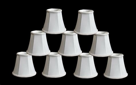 Miniature L Shades For Chandeliers by Urbanest Chandelier Mini L Shades 5 Quot Bell Silk White W