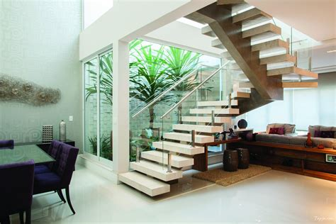living room design  stairscontemporary apartment