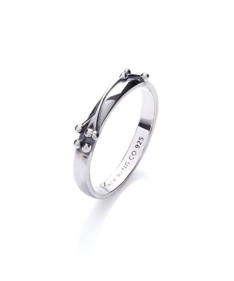 stackable ring silver stacking rings gladstones jewellers