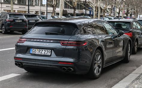 The panamera turbo sport turismo we tested was groundbreaking in that it delivered porsche sports car performance in a package with room for the whole family and all of their stuff. Porsche 971 Panamera Turbo S E-Hybrid Sport Turismo - 7 January 2019 - Autogespot