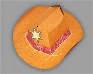 Hut Aus Papier : cowboyhut zum aufsetzen bastelanleitung ~ Watch28wear.com Haus und Dekorationen