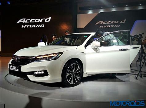 New Honda Accord Hybrid Launched In India At Inr 37 Lakh