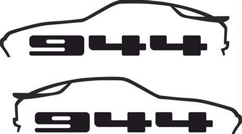 Porsche 944 Decals / Stickers