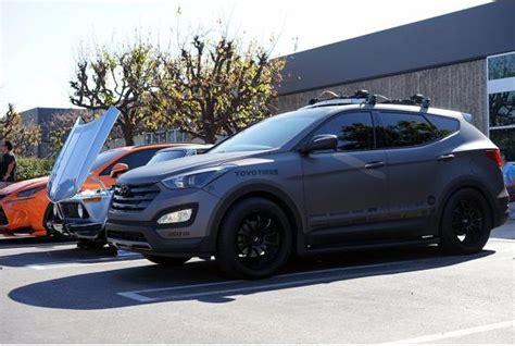 Hyundai Santa Fe Rims by Hyundai Santa Fe Sport Advan Rsd 20x8 5