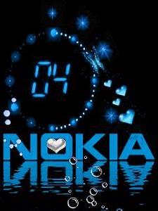 Download Nokia Clock Mobile Wallpaper   Mobile Toones