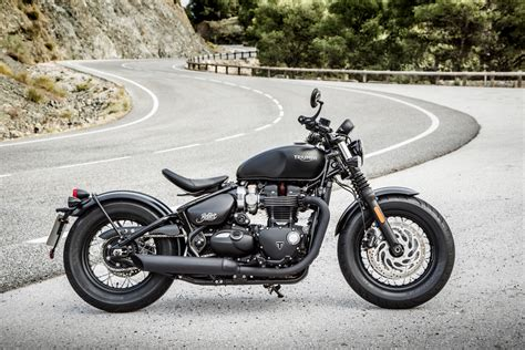 2017 Triumph Bonneville Bobber First Ride Test