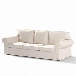 Ikea ektorp sofa cover black sentogosho for Black sectional sofa covers
