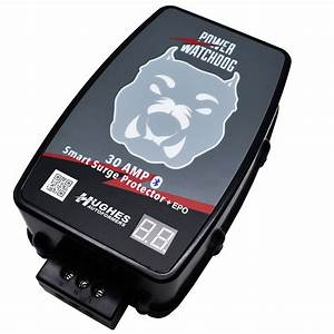 30 Amp Bluetooth Surge Protector With Auto Shutoff