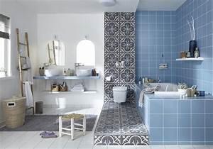 Caillebotis Salle De Bain Avis : d couvrez les plus belles salles de bains bleues elle ~ Premium-room.com Idées de Décoration