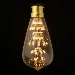 3 Watt Vintage LED Teardrop bulb