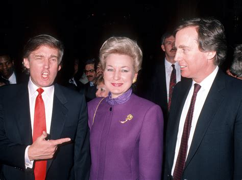 Who is Donald Trump's sister Maryanne Trump Barry?