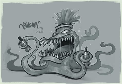 Graffiti Sketch : Sketch Graffiti Character By Kostya-pingwin On Deviantart