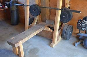 Weight Rack And Bench