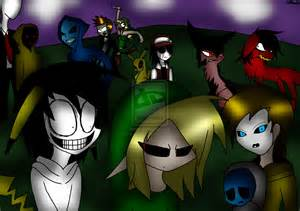Halloween Creepypasta Family