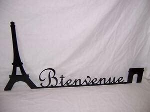 French School Eiffel Tower + Arch Class WELCOME Sign | eBay