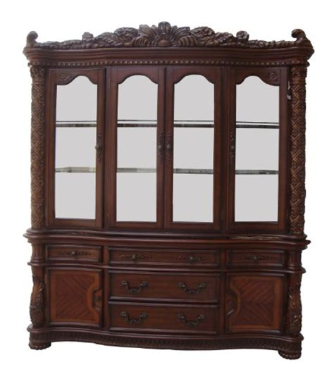 cheap china hutch gt gt gt sale acme 60006 vendome hutch and buffet china cabinet