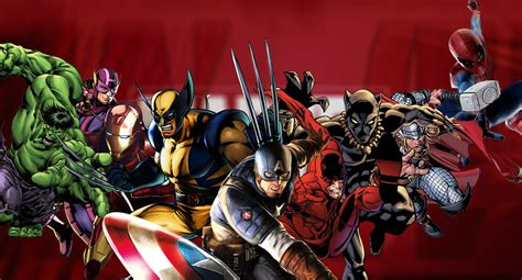 Animated Heroes Wallpaper - marvel characters wallpaper design by axiom apps on deviantart