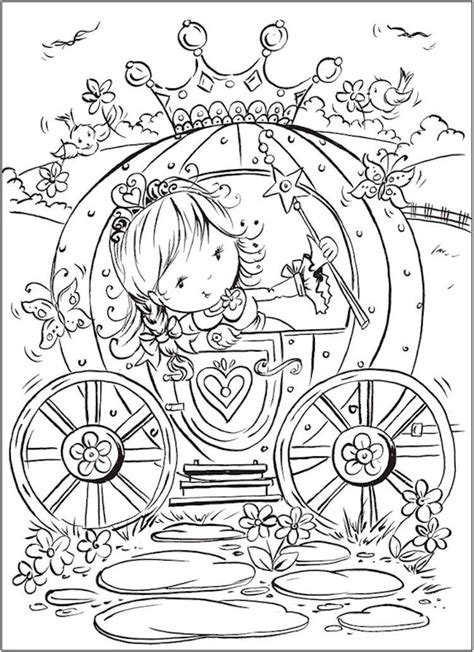 dover pretty princess coloring page  kids  ages
