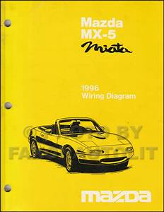 2002 Mazda Mx 5 Miata Wiring Diagram Original