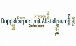 Doppelcarport Mit Abstellraum : ein doppelcarport mit abstellraum sorgt f r ordnung auf ~ Articles-book.com Haus und Dekorationen