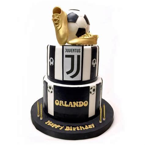 Juventus Cake | Elegant Style Customized Cake for Men ...