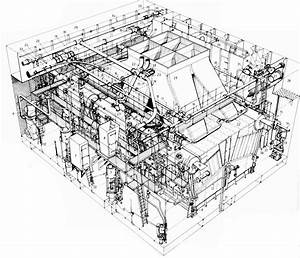 Diagram Of The One Of The Boiler Rooms Of The Hms